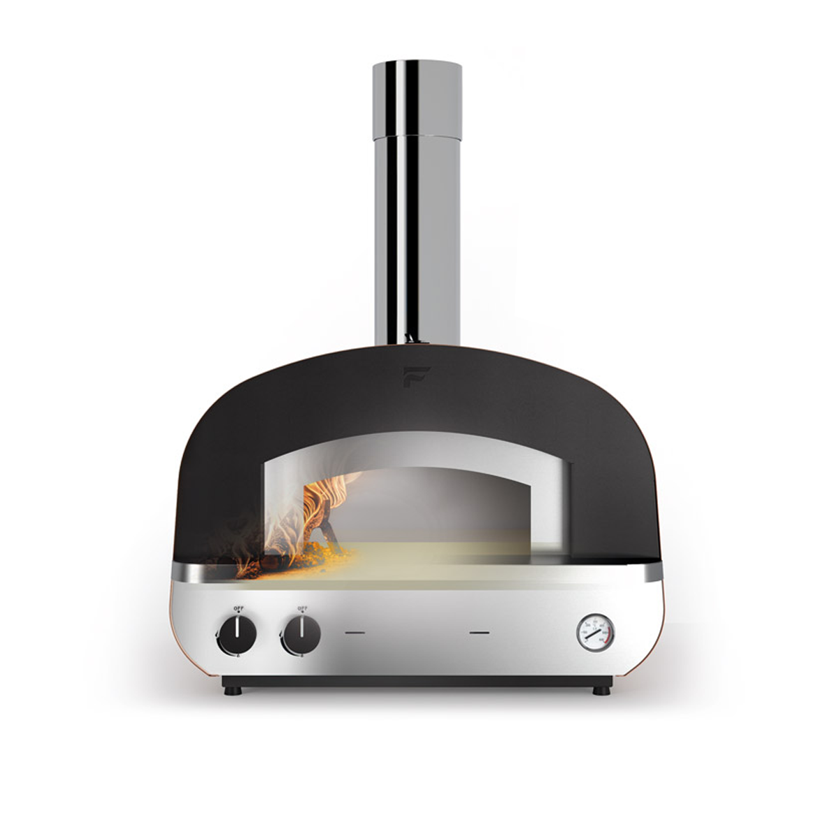 Fontana Piero Build In Gas & Wood Fired Pizza Oven